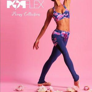 PopFlex Active Draw the Line Legging in Peony